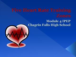 Five Heart Rate Training Zones