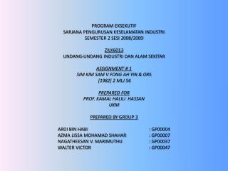 The Malayan Law Journal SIM KIM SAM V FONG AH YIN & ORS [ 1982] 2 MLJ 56 CIVIL SUIT NO 780 OF 1972