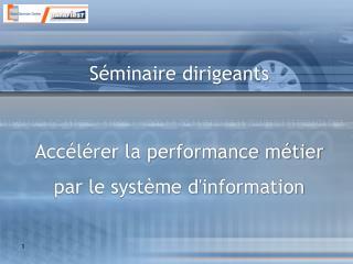 9h00 – 9h30 Accueil participants, présentation objectifs et agenda