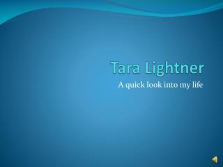 Tara Lightner