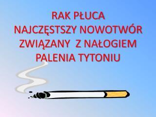 Pierwotny rak płuca