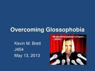 Overcoming Glossophobia