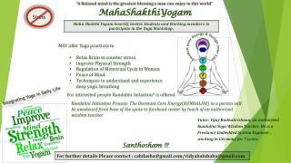 MahaShakthiYogam