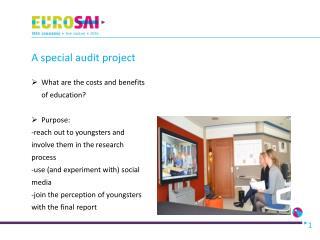 A special audit project