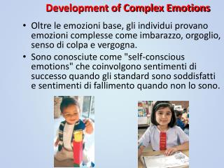 Development of Complex Emotions
