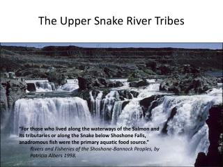 The Upper Snake River Tribes