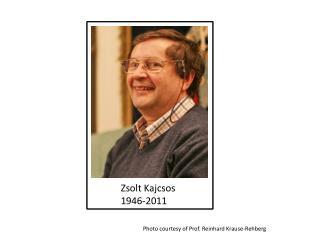 Zsolt Kajcsos  1946-2011