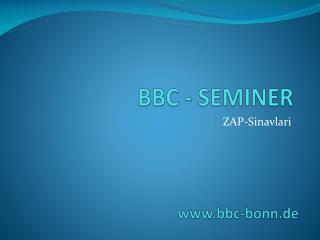 BBC - SEMINER