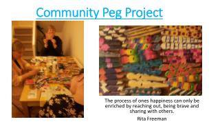 Community Peg Project
