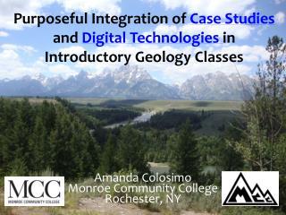 Amanda Colosimo Monroe Community College Rochester, NY
