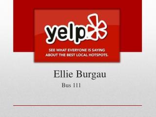 Ellie  Burgau