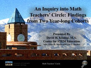 An Inquiry into Math Teachers' Circle: Findings from Two Year-long Cohorts