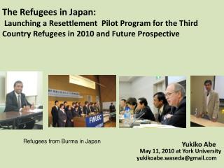 Yukiko Abe        May 11, 2010 at York University