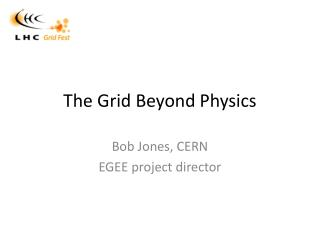 The Grid Beyond Physics