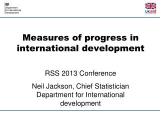 Measures of progress in international development