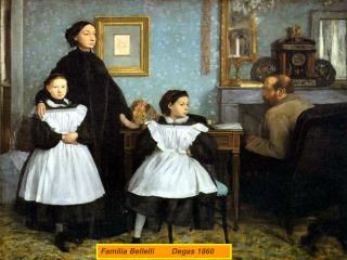 Familia Bellelli        Degas 1860