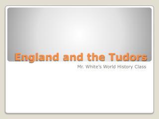 England and the Tudors