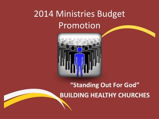 2014 Ministries Budget Promotion