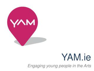 YAM.ie Engaging young people in the Arts