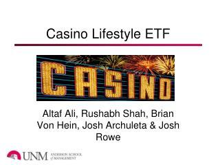 Casino Lifestyle ETF