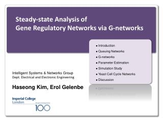 Steady-state Analysis of  Gene Regulatory Networks via G-networks