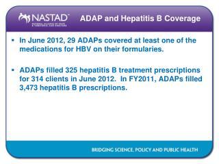 ADAP and Hepatitis B Coverage