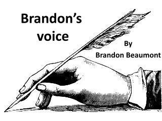 Brandon's  voice