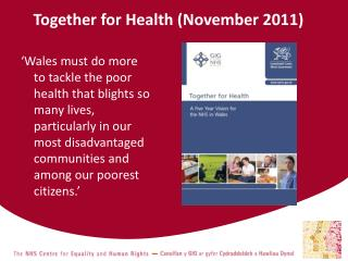 Together for Health (November 2011)