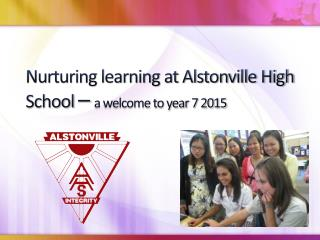 Nurturing learning at Alstonville High School  –  a welcome to year 7 2015