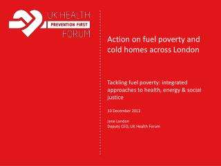 Action on fuel poverty and cold homes across London