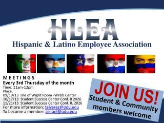 Hispanic & Latino Employee Association