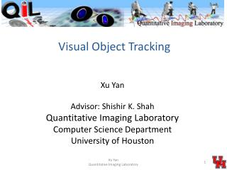 Visual Object  Tracking