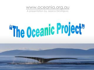 """The Oceanic Project"""
