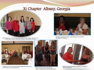Xi Chapter  Albany , Georgia