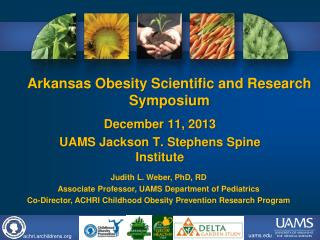 Arkansas Obesity Scientific and Research  Symposium
