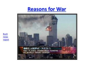 Reasons for War