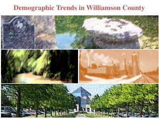Demographic  Trends in  Williamson County