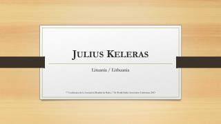 Julius  Keleras