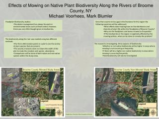 Floodplain Biodiversity studies: