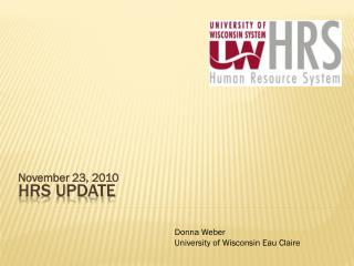 HRS Update