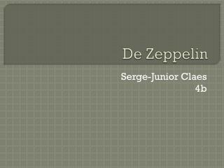 De Zeppelin