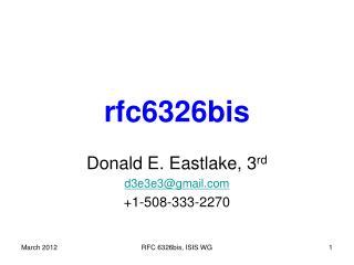 rfc 6326bis