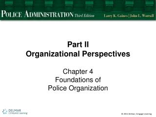 Part  II Organizational  Perspectives