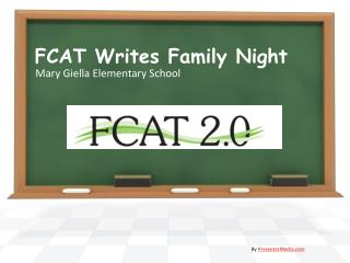 FCAT Writes Family Night