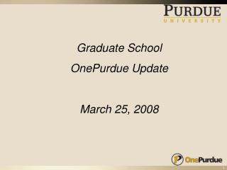 Purdue Purchased