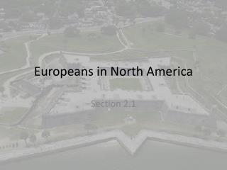 Europeans in North America
