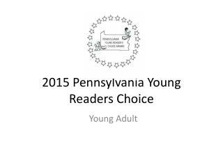 2015 Pennsylvania Young Readers Choice