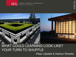 WHAT COULD LEARNING LOOK LIKE? YOUR TURN TO SHUFFLE