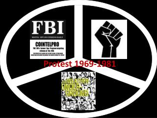 Protest 1969-1981