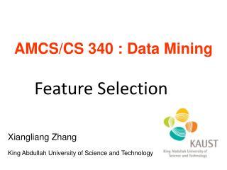 AMCS/CS 340 : Data Mining